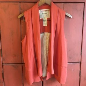 Salmon Vest from Cartonnier for Anthropologie 💖